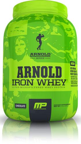 Massa muscolare - arnold iron whey