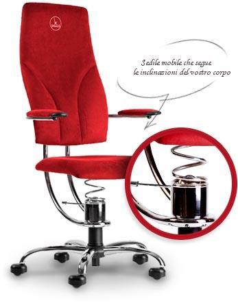 ergonomia della sedia Spinalis