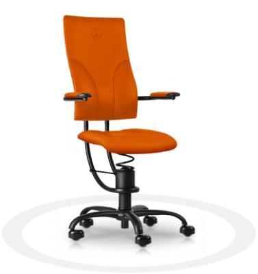 sedia per ufficio con supporto lombare Spinalis