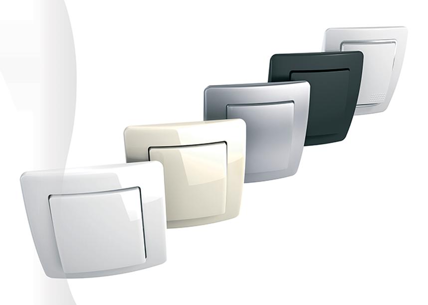 Interruttore luce touch e placche per interruttori di ogni tipo