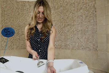 vaschetta acqua bagno